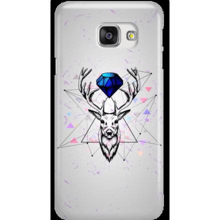 Etui na telefon Samsung Galaxy A7 2016 Jeleń Geometryczny