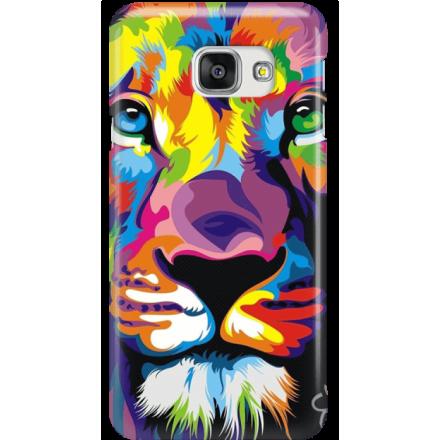 Etui na telefon Samsung Galaxy A7 2016 Kolorowy Lew
