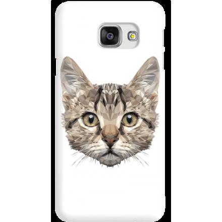 Etui na telefon Samsung Galaxy A7 2016 Kot Geometryczny
