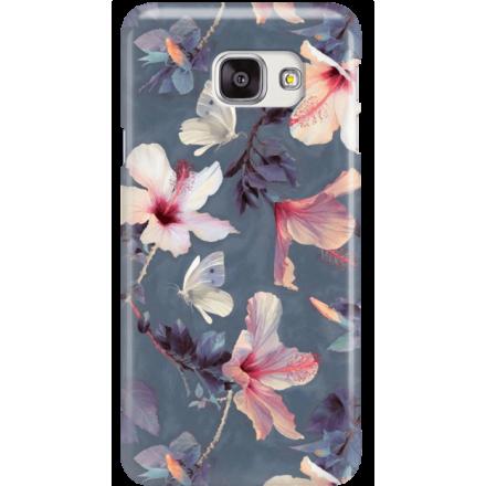 Etui na telefon Samsung Galaxy A7 2016 Kwiatowy Ogród
