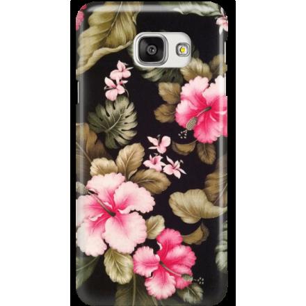Etui na telefon Samsung Galaxy A7 2016 Kwiatowy Raj