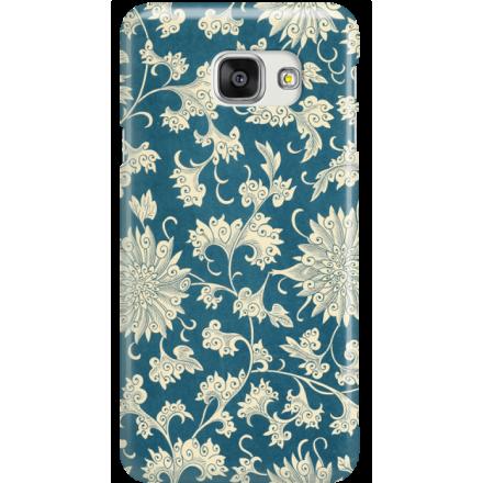 Etui na telefon Samsung Galaxy A7 2016 Kwiaty Ornamenty