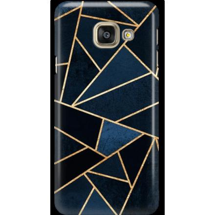 Etui na telefon Samsung Galaxy A5 2016 Geometyczne Indygo