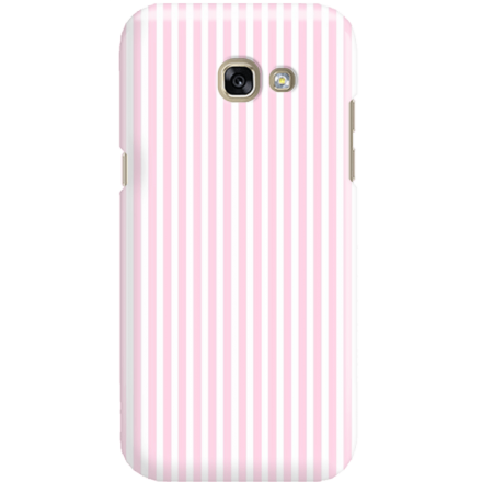 Etui na telefon Samsung Galaxy A3 2017 Candy Różowe Paski