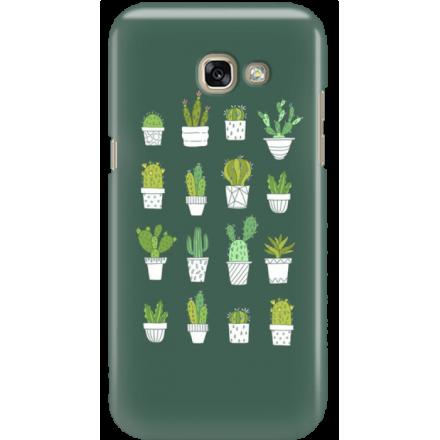 Etui na telefon Samsung Galaxy A3 2017 Kaktusy