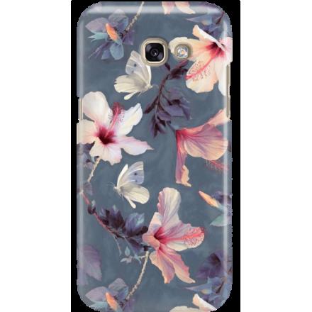 Etui na telefon Samsung Galaxy A3 2017 Kwiatowy Ogród