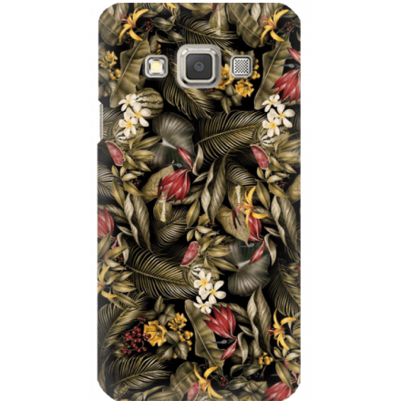 Etui na telefon Samsung Galaxy A3 Egzotyczne Rośliny