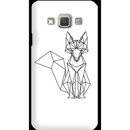 Etui na telefon Samsung Galaxy A3 Lis Geometryczny
