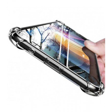 ETUI ANTI-SHOCK GLASS NA TELEFON APPLE IPHONE 12 / 12 PRO CZARNY