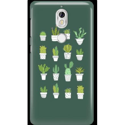 Etui na telefon Nokia 7 Kaktusy
