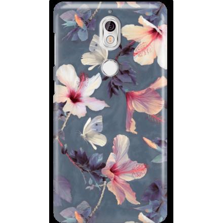 Etui na telefon Nokia 7 Kwiatowy Ogród