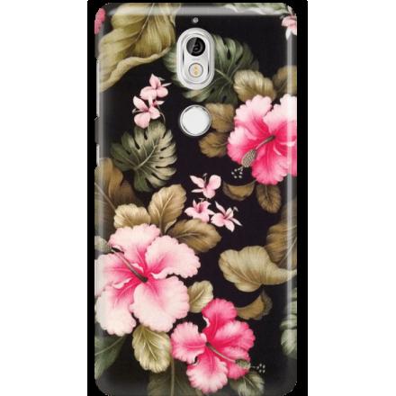 Etui na telefon Nokia 7 Kwiatowy Raj