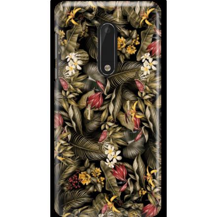 Etui na telefon Nokia 5 Egzotyczne Rośliny