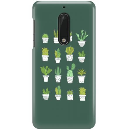Etui na telefon Nokia 5 Kaktusy