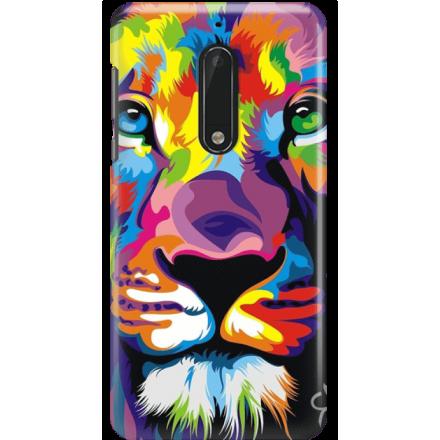 Etui na telefon Nokia 5 Kolorowy Lew