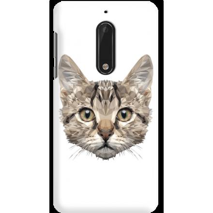 Etui na telefon Nokia 5 Kot Geometryczny