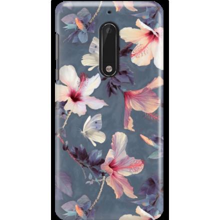 Etui na telefon Nokia 5 Kwiatowy Ogród