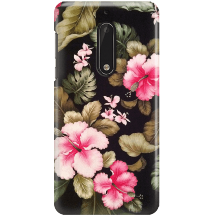 Etui na telefon Nokia 5 Kwiatowy Raj
