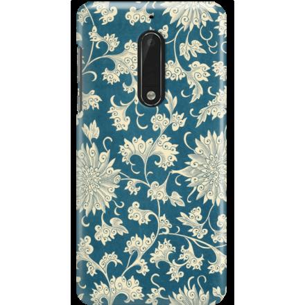 Etui na telefon Nokia 5 Kwiaty Ornamenty