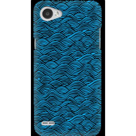 Etui na telefon LG Q6 Falujące Morze