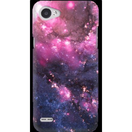 Etui na telefon LG Q6 Galaktyka