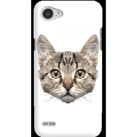 Etui na telefon LG Q6 Kot Geometryczny