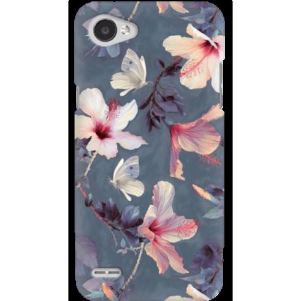 Etui na telefon LG Q6 Kwiatowy Ogród
