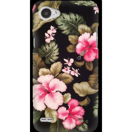 Etui na telefon LG Q6 Kwiatowy Raj