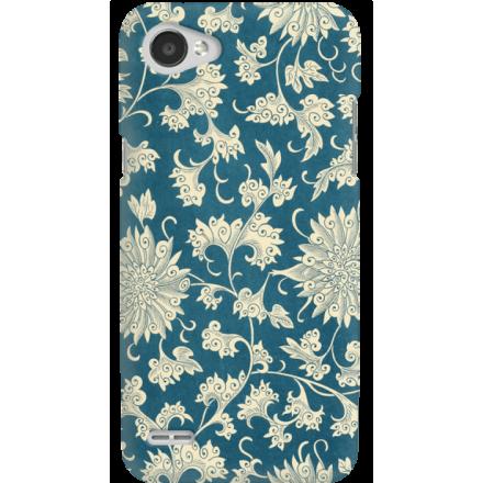 Etui na telefon LG Q6 Kwiaty Ornamenty