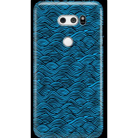 Etui na telefon LG V30 Falujące Morze