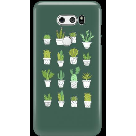 Etui na telefon LG V30 Kaktusy