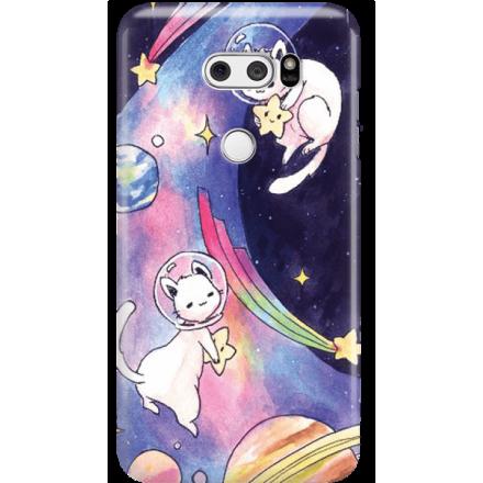 Etui na telefon LG V30 Kosmiczne Koty