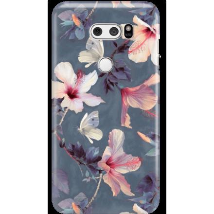 Etui na telefon LG V30 Kwiatowy Ogród