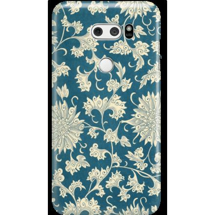 Etui na telefon LG V30 Kwiaty Ornamenty