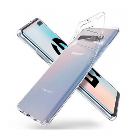 ETUI PROTECT CASE 2mm NA TELEFON SAMSUNG GALAXY S10 5G TRANSPARENT