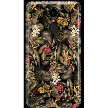 Etui na telefon LG K8 Dual 2017 Egzotyczne Rośliny