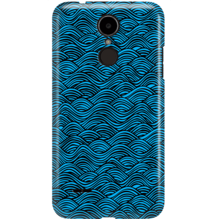Etui na telefon LG K8 Dual 2017 Falujące Morze