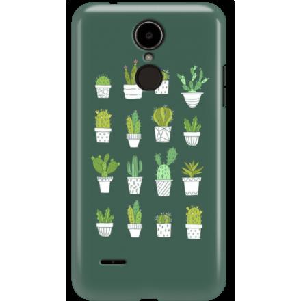 Etui na telefon LG K8 Dual 2017 Kaktusy