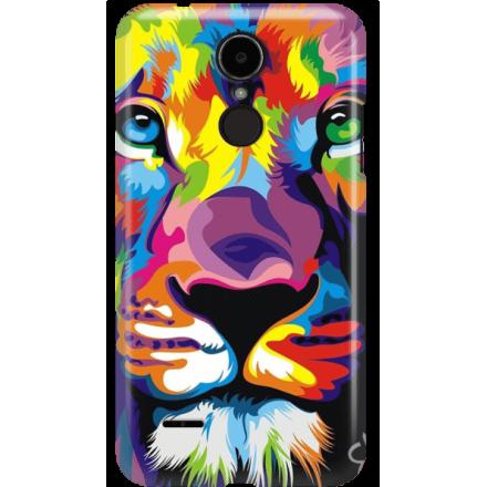 Etui na telefon LG K8 Dual 2017 Kolorowy Lew