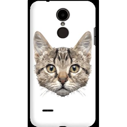 Etui na telefon LG K8 Dual 2017 Kot Geometryczny