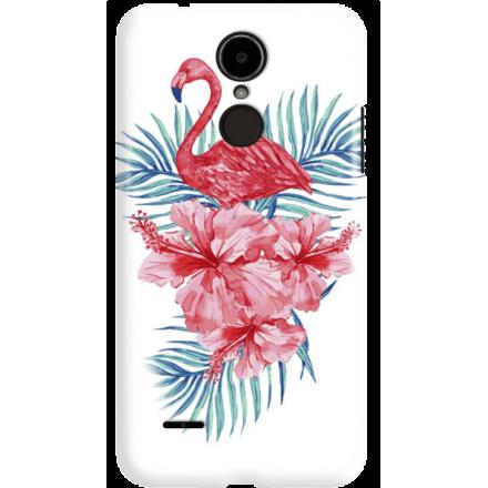 Etui na telefon LG K8 Dual 2017 Król Flaming