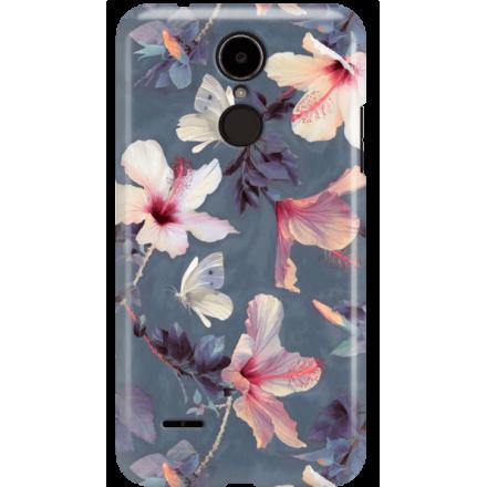 Etui na telefon LG K8 Dual 2017 Kwiatowy Ogród