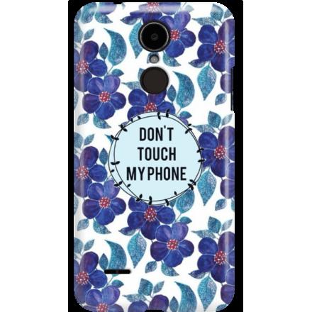Etui na telefon LG K8 Dual 2017 Kwiaty