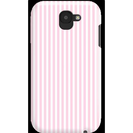 Etui na telefon LG K3 2017 Candy Różowe Paski