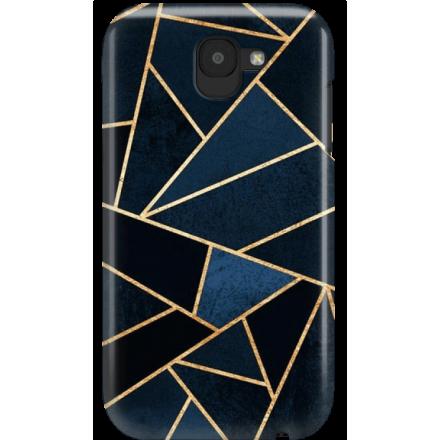 Etui na telefon LG K3 2017 Geometyczne Indygo