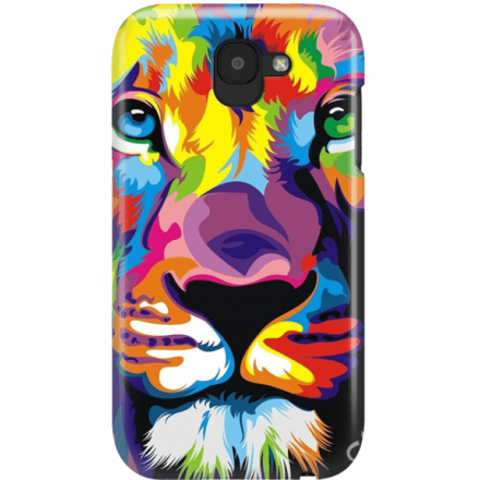 Etui na telefon LG K3 2017 Kolorowy Lew