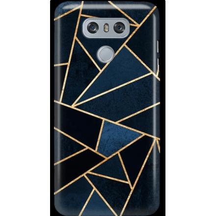 Etui na telefon LG G6 Geometyczne Indygo