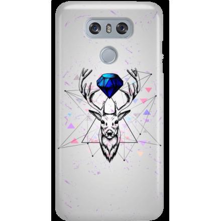 Etui na telefon LG G6 Jeleń Geometryczny