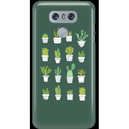 Etui na telefon LG G6 Kaktusy