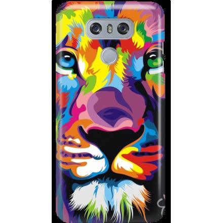 Etui na telefon LG G6 Kolorowy Lew